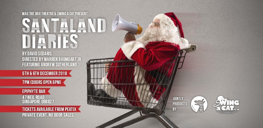 David Sedaris Christmas.Santaland Diaries By David Sedaris And Christmas Cabaret
