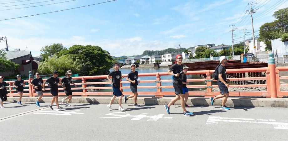 ZUSHI RUNNING CRUISE supported by adidas Runner