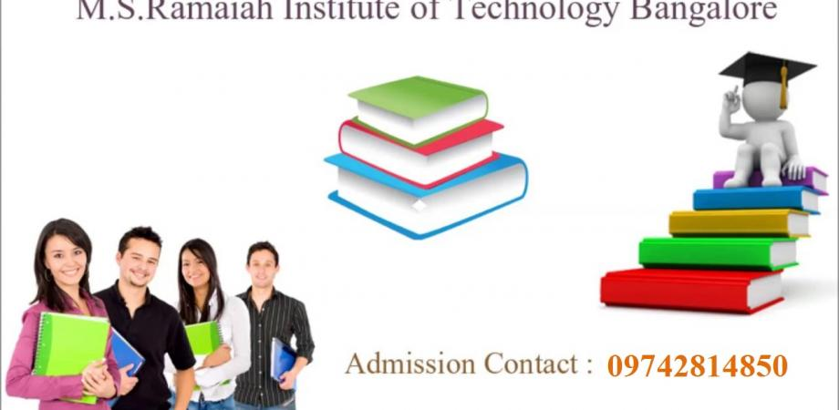 09742814850 Fee Structure Of Ramaiah Institute Of Technology Msrit Bangalore For B Tech Peatix