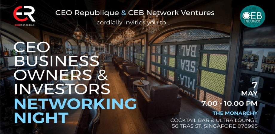 CEO, Business Owner & Investors Networking Night