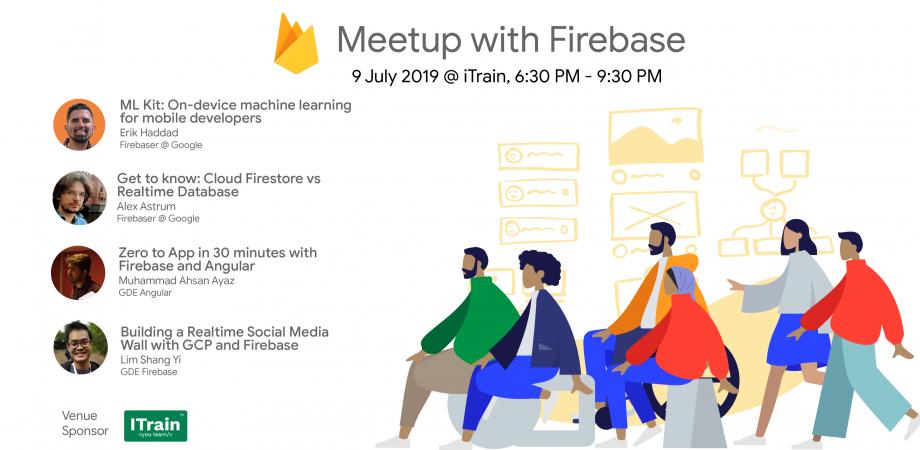 Meetup with Firebase | Peatix