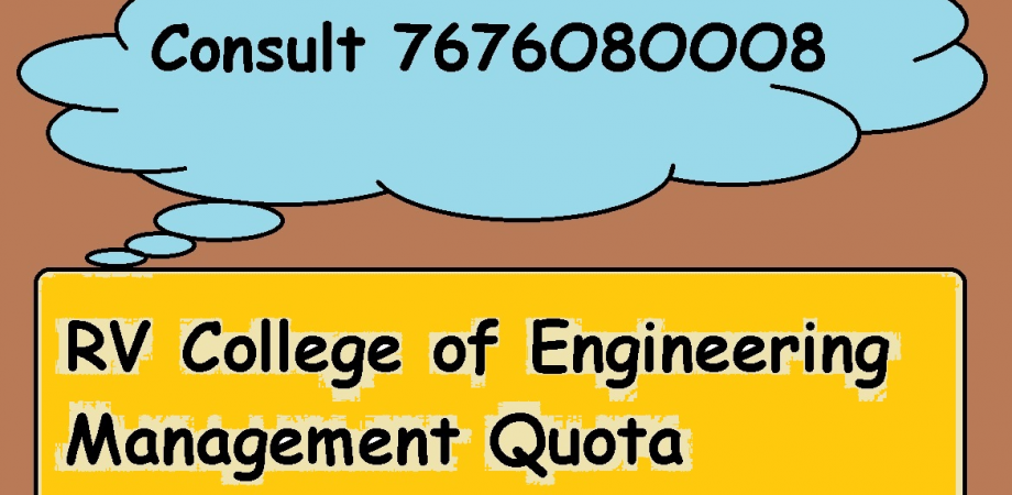 ⇖7676O8OOO8⇗Management quota admission in RV College of