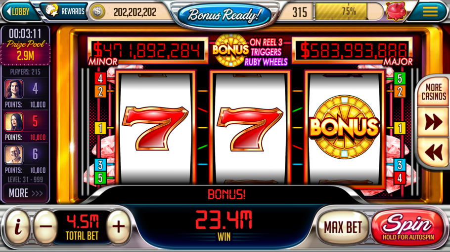Leak - Casino Kit, Slots,blackjack,holdem And Roulette Slot Machine