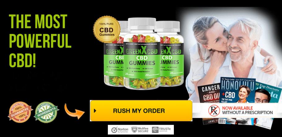 GreenX CBD Gummies | Peatix
