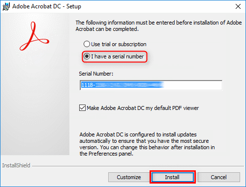 adobe acrobat pro dc activation code free