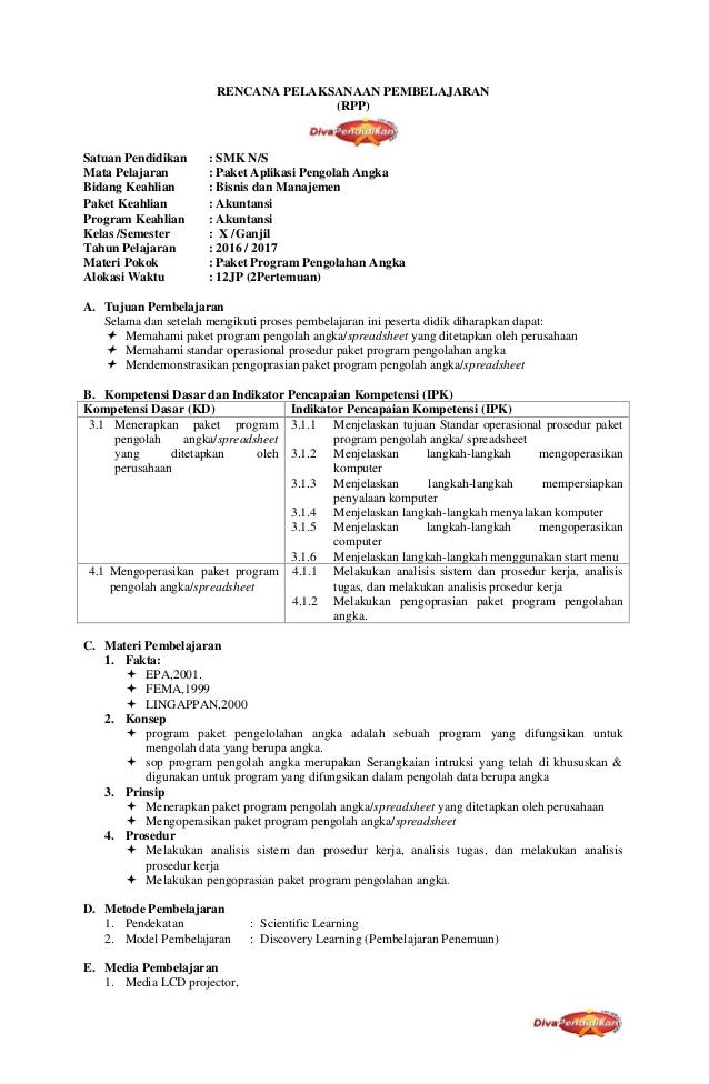Silabus Rpp Akuntansi Perbankan Smk Berkarakter Peatix