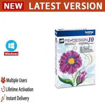 Brother Pe Design 6 0 Embroidery Software Without Need For Dongl Full Version Peatix