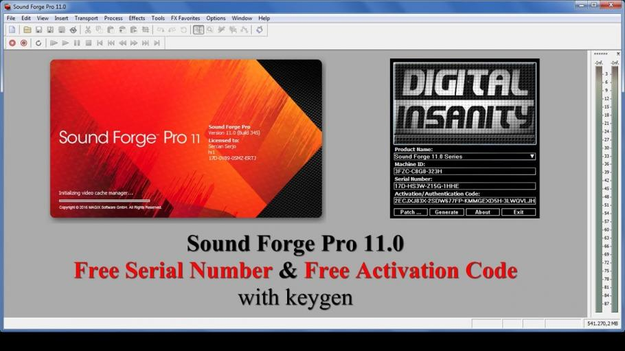 Sony Sound Forge Noise Reduction Serial Number Peatix