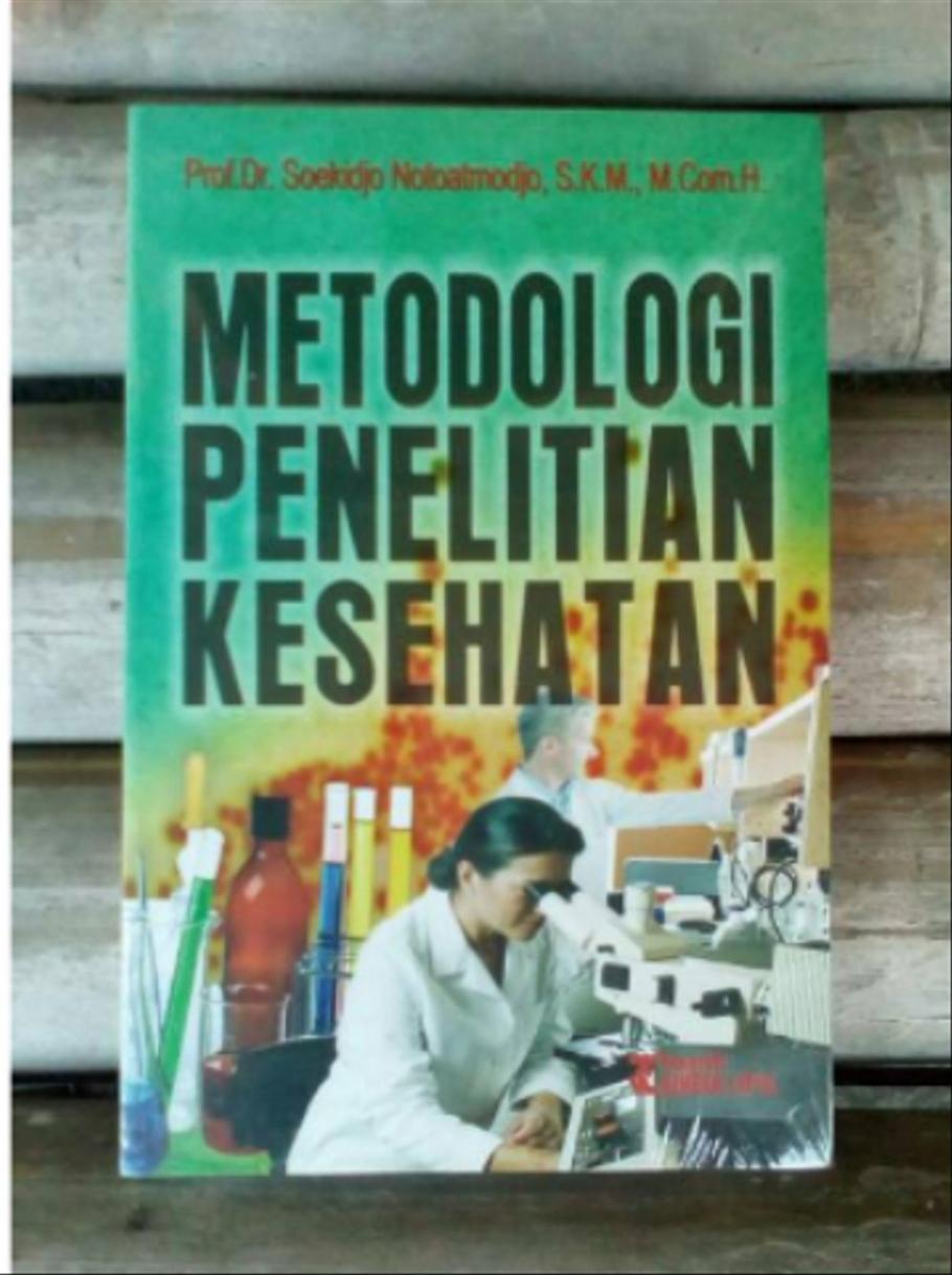 Free Download Buku Metodologi Penelitian Kesehatan
