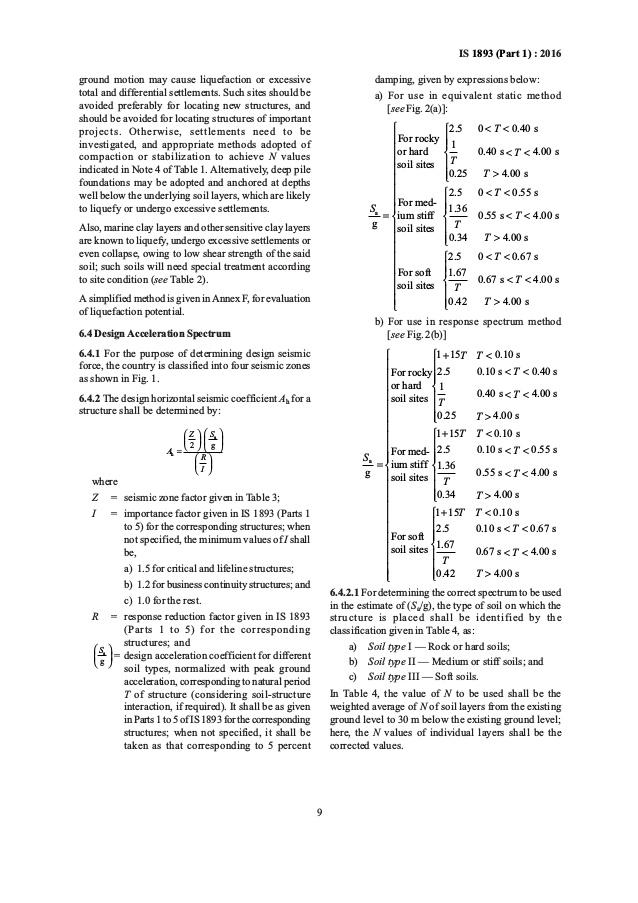 Is 1893 Part 4 Pdf Free Download | Peatix