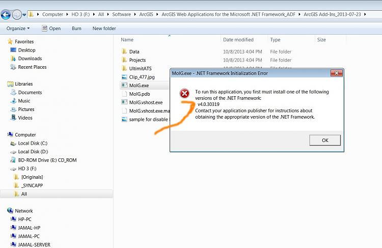 Установка платформы. Net framework в windows 7 с пакетом.