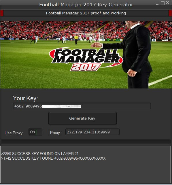 football manager 2017 serial key free download