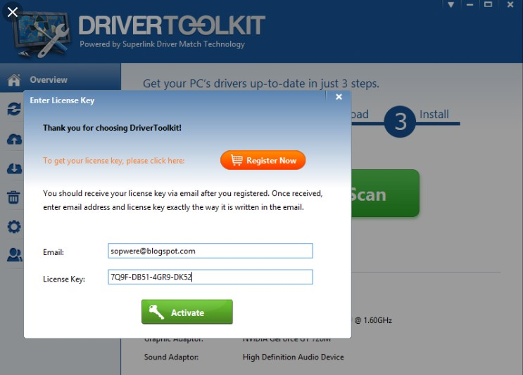 driver toolkit 8.5 license key crack free download