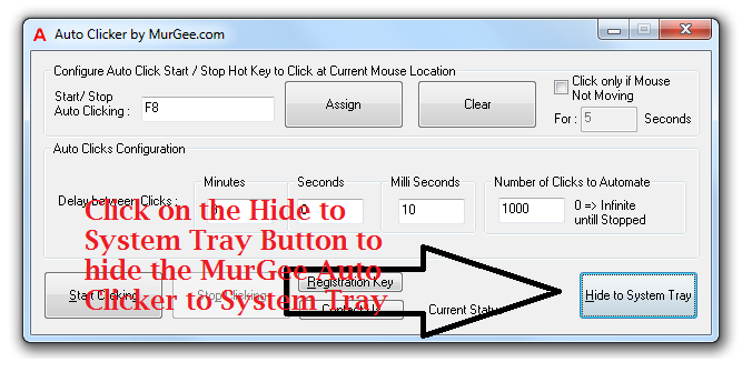 auto mouse clicker registration key free