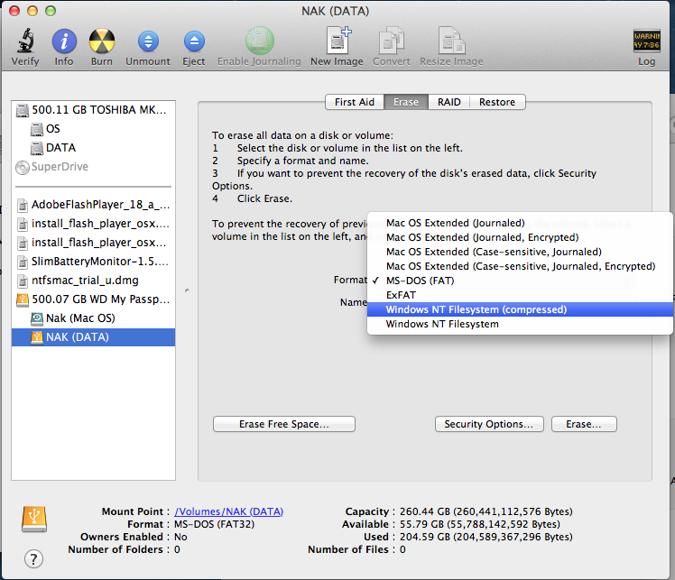 Wd ntfs driver for macos