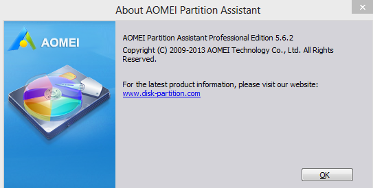 Aomei Partition Assistant 6 Serial Key