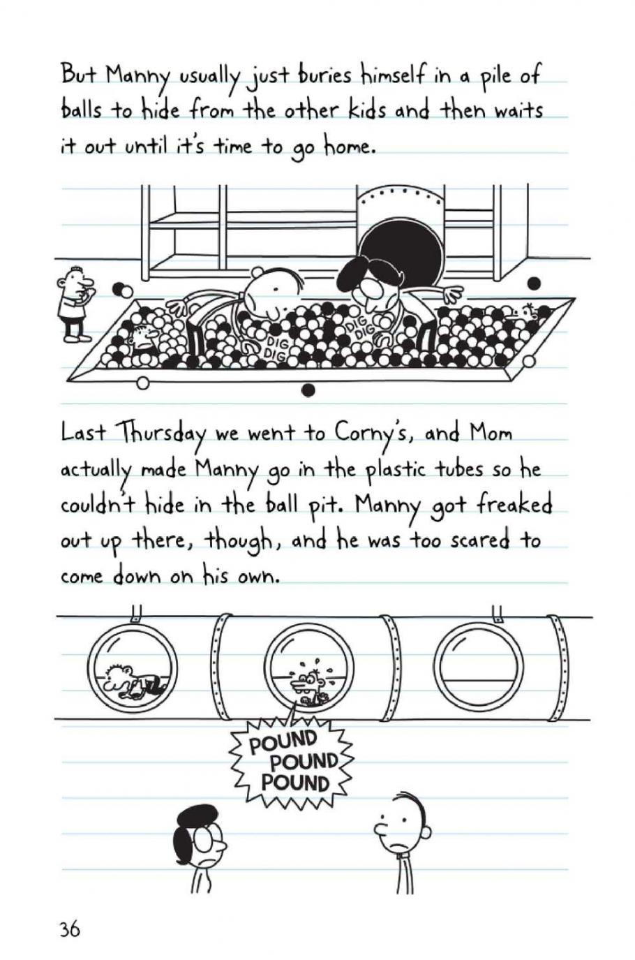 Diary Of A Wimpy Kid The Third Wheel Pdf Free Download Peatix