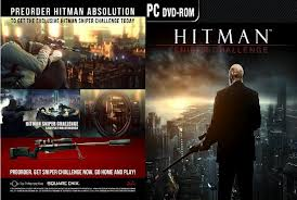 hitman absolution dvd cover