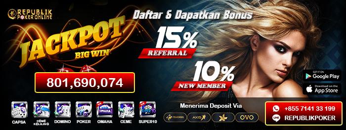 Republik Poker Situs Poker Online Terpercaya Peatix