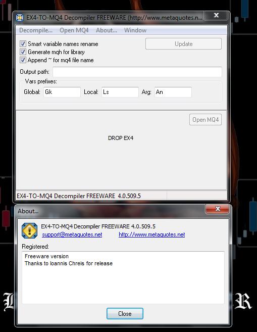 Decompiler mq4 ex4 torrent download to Ex4 To