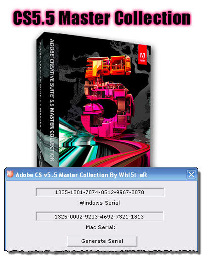 Adobe Creative Suite 5.5 Master Collection 64-Bit