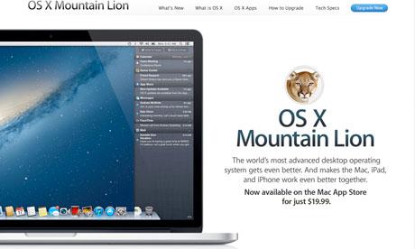 Apple mac os x lion 10.8 free download
