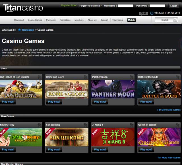 Играть в титан казино онлайн игровые автоматы для андроид скачать через торрент