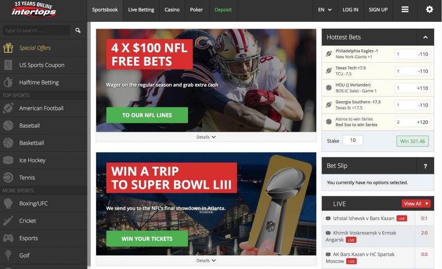 Intertops mobile betting news online cricket betting websites online
