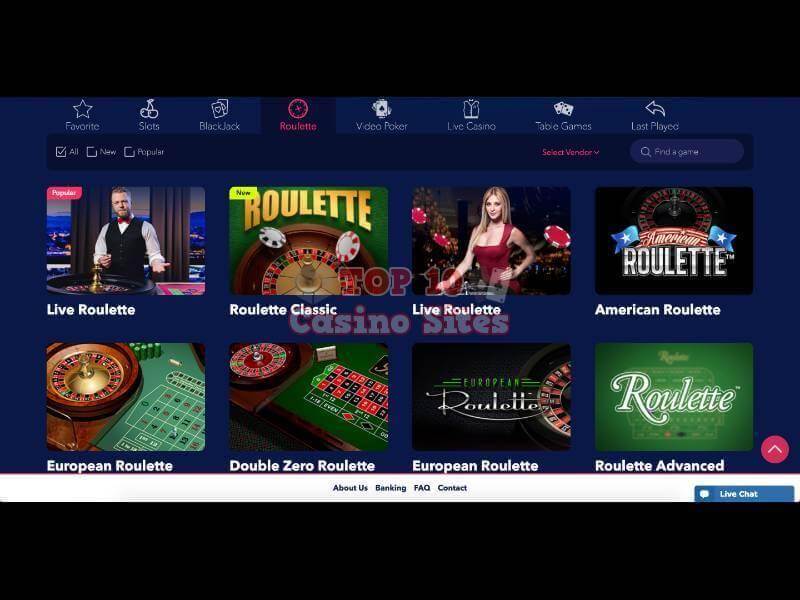 casino top list