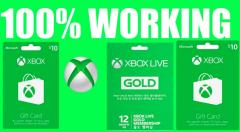 Free QR Codes Xbox Live Gold No Survey