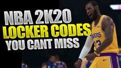 NBA 2K20 Locker Codes