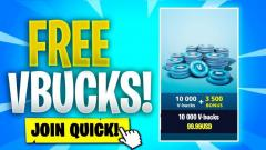 【FREE V-BUCKS】Fortnite $$Free V-Bucks$$ 2020 %%No Survey%%