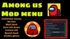 among us mod menu ios 2021