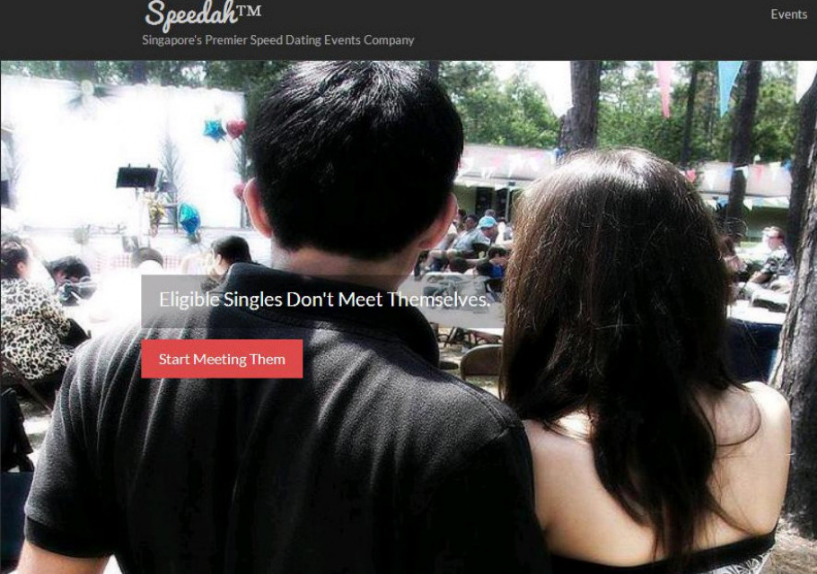 speed dating event singapore
