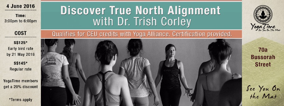 Yoga Anatomy Workshop Discover True North Alignment With Dr Trish