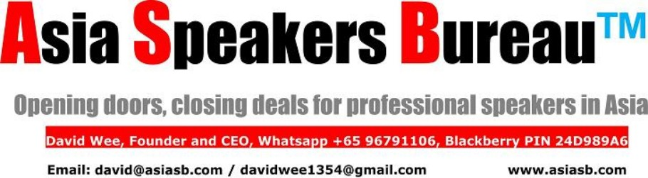 Asia Speakers Bureau Asb Membership Application Peatix