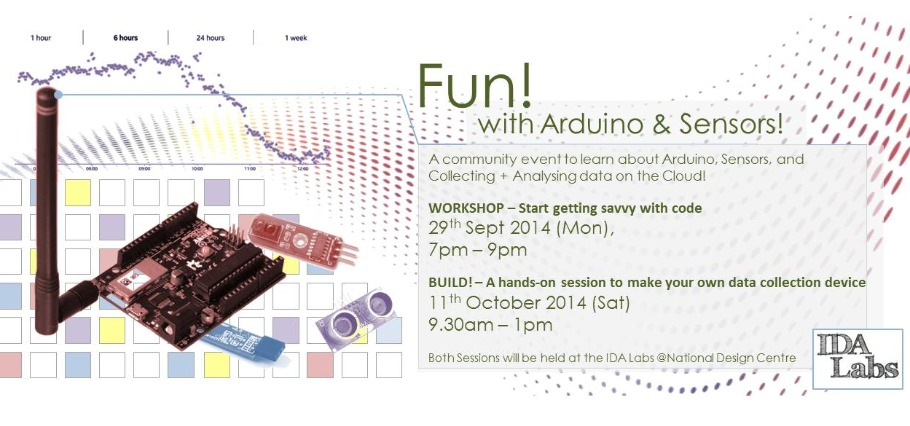 Fun with Arduino & Sensors – BUILD! – A hands-on session to make