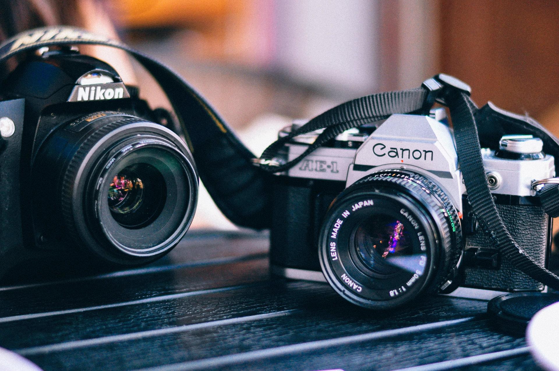 Canonのフィルムカメラ