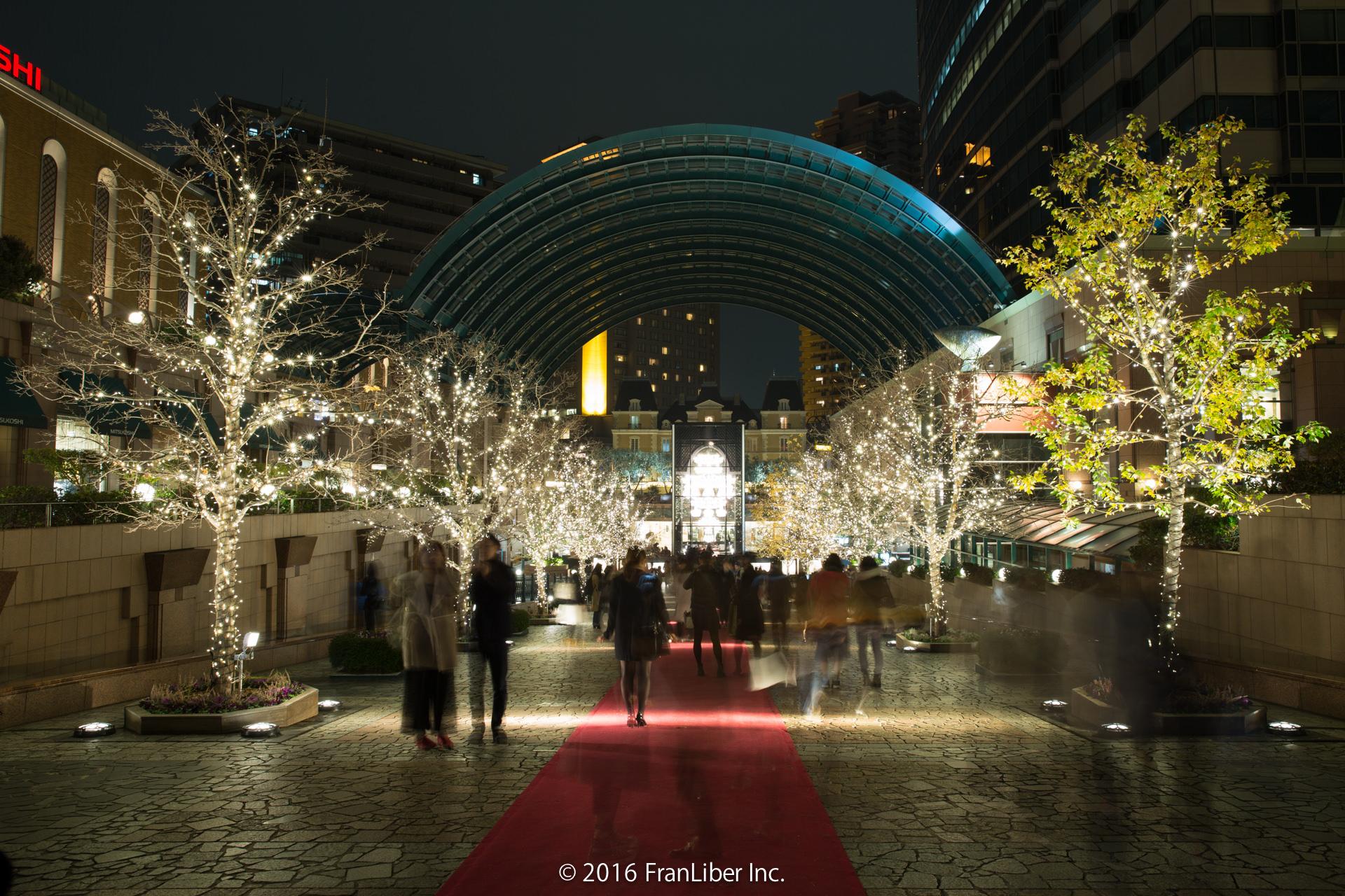 恵比寿ガーデンプレイスの広場