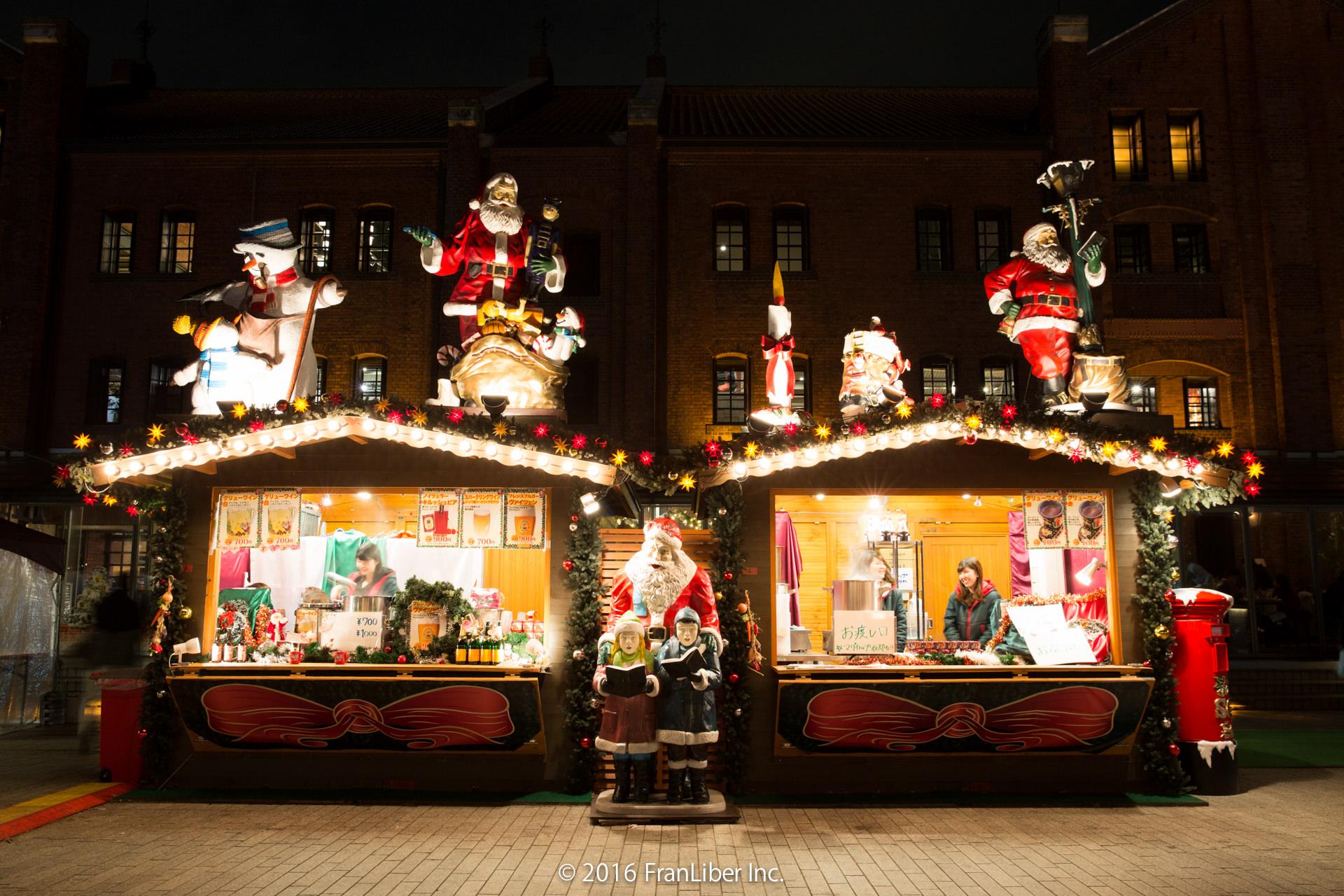 横浜赤レンガ倉庫で開催されるクリスマスマーケット