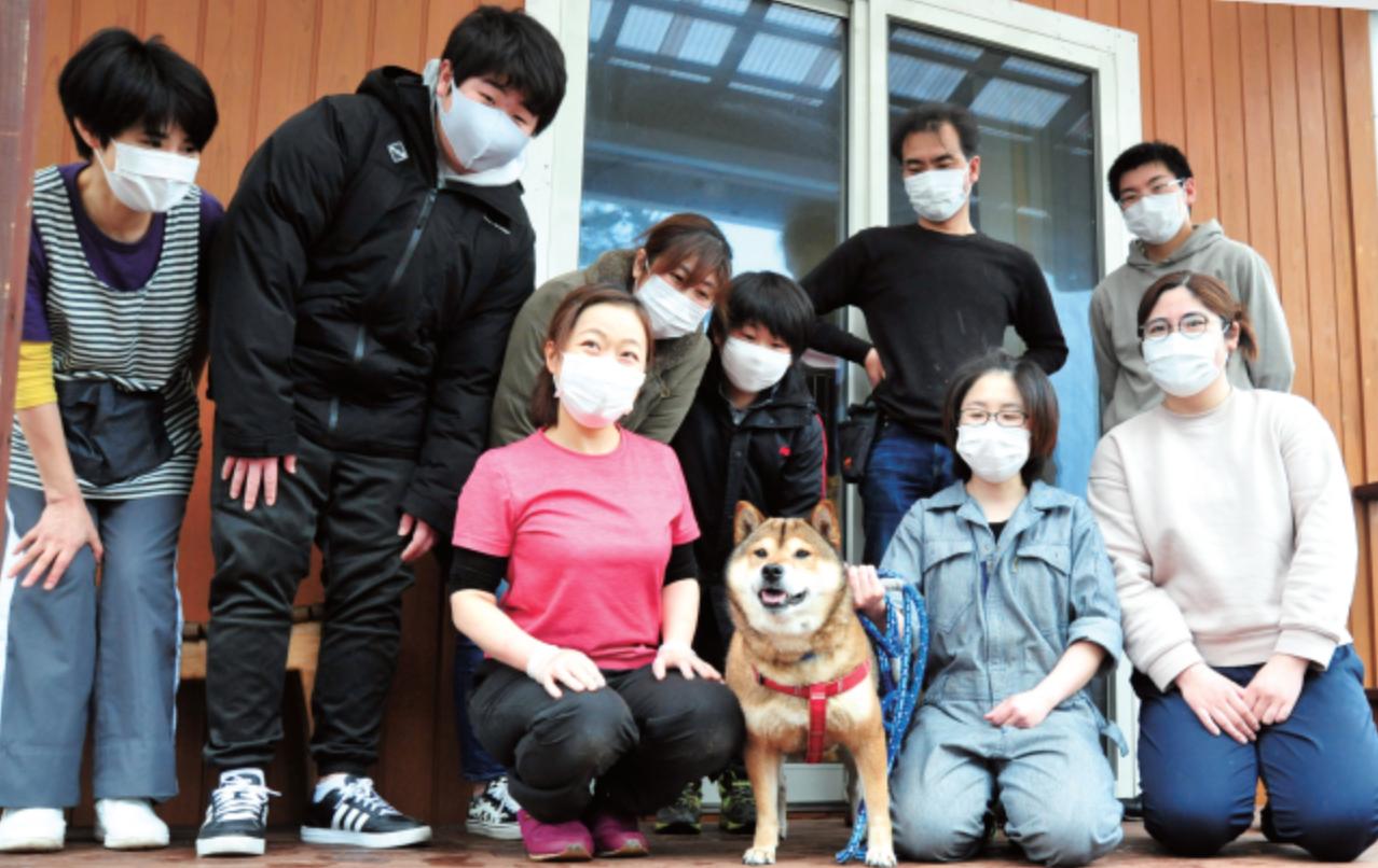 「人間の都合で困っている犬や猫を救いたい。」