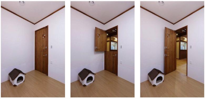 愛犬専用ドア画像