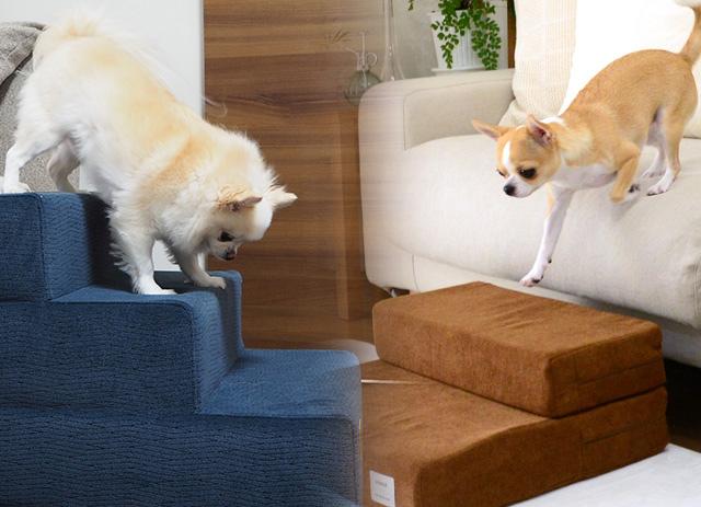 犬用の階段