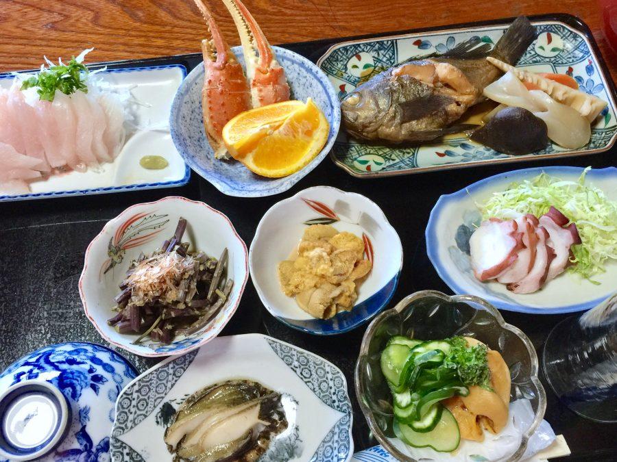 民宿「網元」さんの夕食