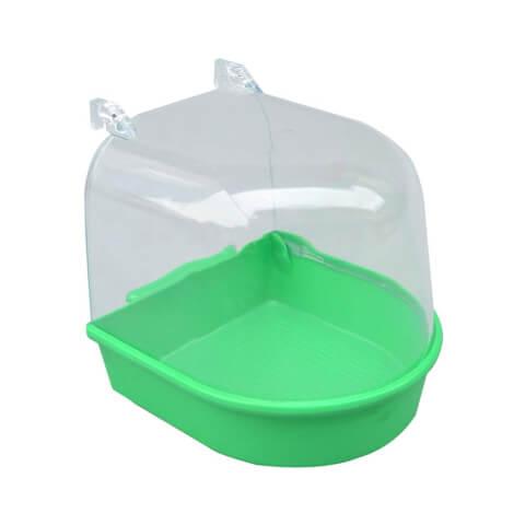 小鳥用水浴び容器