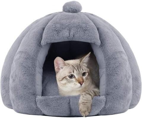 猫 ベッド ハウスタイプ ふわふわ