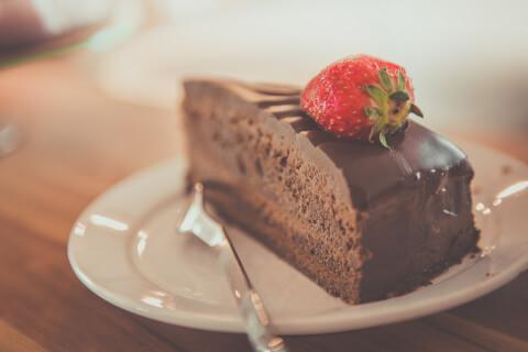 チョコレートケーキ 犬用ケーキ