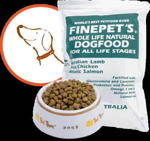安全なおすすめドッグフード:FINPET'S