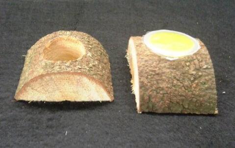 エサ皿(かまぼこ型)