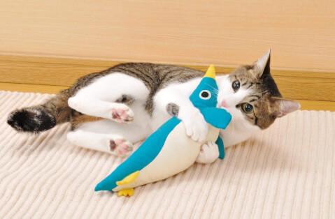 けりぐるみ 猫 ひとり遊び